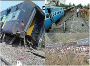 meerut to lucknow train derail