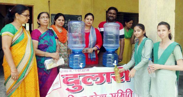 ghaziabad 800 student water tank