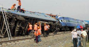 meerut to lucknow news train derail