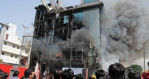 noida sector 11 company fire