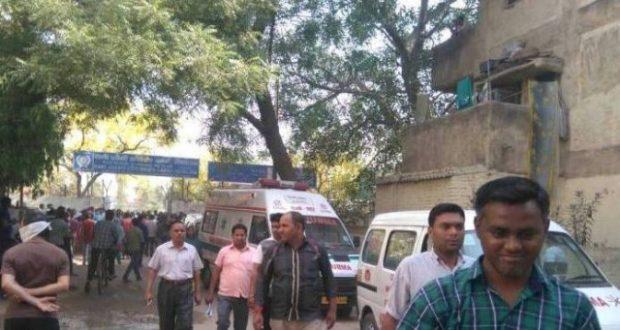 gas leakage tughlakabad delhi