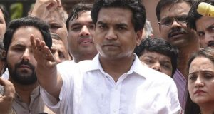 kapil mishra aap party mantri