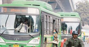 DTC bus installed camra delhi