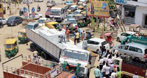 ghaziabad road jaam traffic